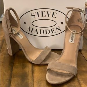 Steve Madden Carson Taupe Suede